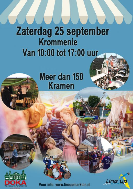 Poster Krommenie 25 september 2021