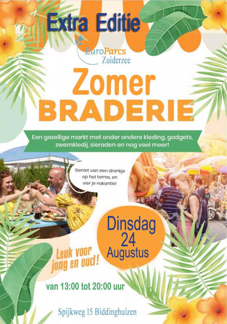 Europarcs_Zuiderzee_zomerbraderie